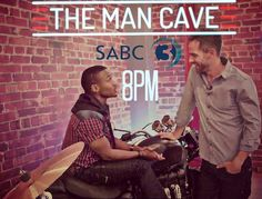 This week on The Man Cave we bring you a whole new adventure with Lunga Shabalala & Janez Vermeiren , Wednesday at 8pm on SABC 3.  What have you loved most about the show so far? The guest stars, DIY with Aidan Bennetts Design and Builders Warehouse, the beautiful cars, or our Nokia Lumia Moments? Builders Warehouse, Man Caves, Amazing Spaces, New Adventures, The Man, Wednesday, Bring It On, In This Moment, Cars