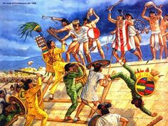 Siege of Coixtlahuaca AD 1458 Lord Atonaltzin battles the Aztecs but is…