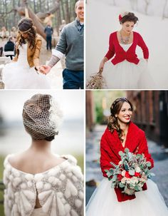 Winter wedding ideas | Winter wedding cover up ideas | Christmas wedding ideas that are so far from tacky they're magical | Confetti.co.uk