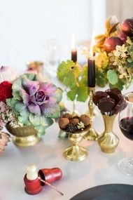 Glamorous Floral + Marsala Wedding Inspiration in South Africa - Style Me Pretty