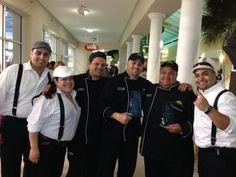 Equipo Culinario de Florida Technical College Campeones del Bacchus Bash ★ e  Kissimmee, FL (9 de abril de 2013)- El famoso evento culinario del área central de la Florida, El Bacchus Bash ya tiene nuevo campeones.El equipo de Artes Culinarias y hospitalidad de la institución educativa Florida Technical College (FTC) alcanzaron el primer lugar en las competencias.