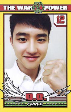 Exo photo card