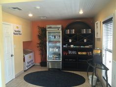 Take a look at the new addition to our lobby. Our Sunshine Market Place is available for our guests to pick up quick items like frozen foods, juices, snacks, and treats!
