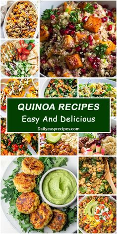 Collection of Best Delicious Quinoa Recipes – Yummy – Best Ideas for Dinner Wine Recipes, Mexican Food Recipes, Real Food Recipes, Cooking Recipes, Quinoa Recipes Easy, Healthy Dinner Recipes, Yummy Recipes, I Love Food, Good Food