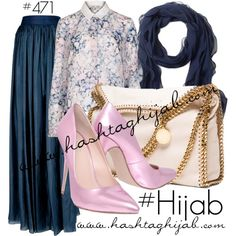 Hashtag Hijab Outfit #471 by hashtaghijab on Polyvore featuring Lanvin, Carvela, STELLA McCARTNEY, Brooks Brothers and hijab