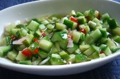 Thai Style Spicy Pickled Cucumber Relish Recipe on Food52 recipe on Food52