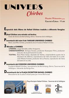 L'Ajuntament de Tavernes retrà homenatge a l'escriptor Rafael Chirbes