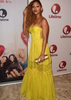 Meagan Good, Strapless Dress Formal, Formal Dresses, Short Skirts, Dress Skirt, Cool Style, Shorts, Beautiful, Fashion