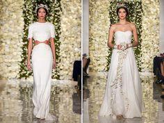 Friday I'm Coveting…Reem Acra Bridal Fall 2015