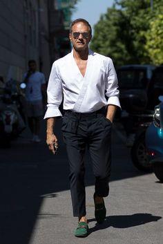 The best street style from Milan Men's Fashion Week SS18,