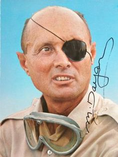Moshe Dayan (1915 - 1981) Israeli general and politican, victor in the 1967