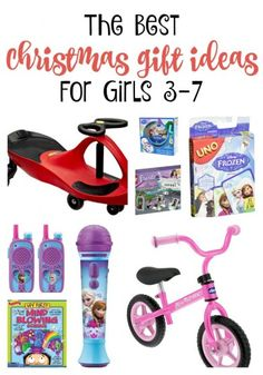 Have a little lady on your Christmas wishlist this year? We've  rounded up the best Christmas Gift Ideas for Girls ages 3 to 7 that will be handy while you shop!