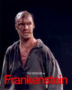 FRANKENSTEIN (2011) ~ Benedict Cumberbatch as The Creature. [GIF]