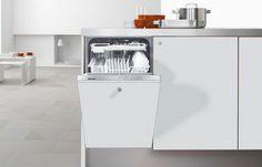 Miele Futura Dimension Slimline Series G4760SCVI Fully Integrated Dishwasher: Remodelista