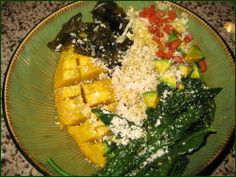 How to Make a Macrobiotic Bowl   http://rawglow.com/blog/2010/05/24/the-macrobiotic-bowl-a-healthy-cooked-food-option/