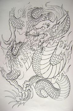 Dragon 11 from my book...