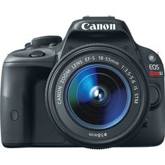 Canon EOS Rebel SL1 EF-S 18-55mm IS STM Kit Ignite Your Imagination. As the…