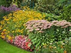 Cottage Garden Style: Cottage gardens feature abundance and informality. From HGTV.com's Garden Galleries