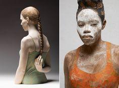 今にも動き出しそうなリアルな人間の木彫り彫刻を生み出すイタリアのアーティストBruno Walpothさんの作品「wood」シリーズの紹介