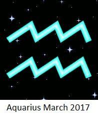 Your Horoscope 2017: Aquarius Monthly Horoscope: March 2017
