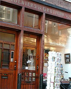 Paperstore: Here you will find the most lovely papers, notebooks, cards en boxes