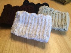 Scalloped Crochet Boot Cuffs by SeeEmilyStitch on Etsy