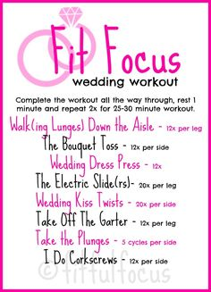Exercise ideas on pinterest fit bit hiit and sprint workout for Fitness depot wedding