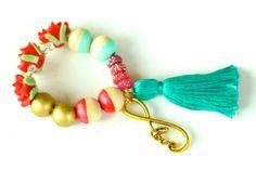 Golden Infinity Love Charm Bracelet