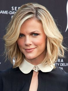 Brooke something - easy going, short, waves, nice hair color, chic
