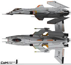 Chronicles of Man 3.0: A-22 Skoll Heavy Fighter by HandofManos