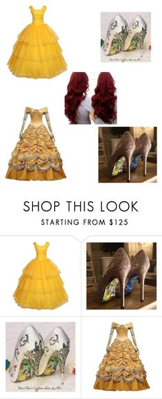 """Beauty and the Beast"" by sanaajade on Polyvore featuring beauty"