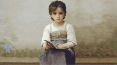 William-Adolphe-Bouguereau---The-Difficult-Lesson