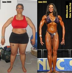 wow! Muscle before and after #kevcosmith #fitness