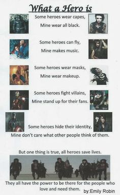These guys....are my hero's,...and I will stand up for them no matter what :) and...sometimes andy wears a cape ;D