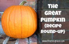 The Great Pumpkin Recipe Round-up - There Is Grace Pumpkin Recipes, Fall Recipes, Fall Treats, Allergy Free, Cinnamon Apples, Food Allergies, Fall Season, Food Hacks, Encouragement
