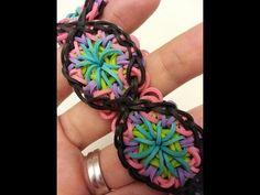 Kaleidoscope Rainbow Loom Bracelet Tutorial