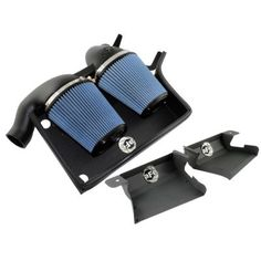 aFe Stage 2 Cold Air Intake Pro 5 R W/Scoops for 07-12 BMW 335i