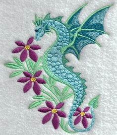 Magical Dragons and Fairies Set, 8 Designs - 5x7