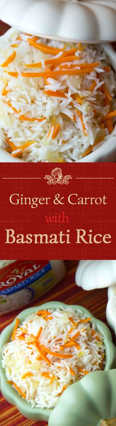 Kick your Royal Basmati Rice up a notch by adding grated ginger, sauteed onions and carrots!