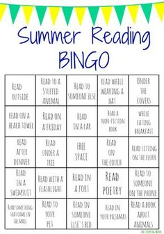 Summer Reading Bingo Challenge for Kids. Get Your Kid Reading this Summer with these Free Printable Bingo Boards! Summer Reading Bingo Challenge for Kids. Get Your Kid Reading this Summer with these Free Printable Bingo Boards! Reading Bingo, Kids Reading, Reading Activities, Homework For Kids, Summer Homework, Holiday Homework, Reading Incentives, Reading Projects, Reading Help