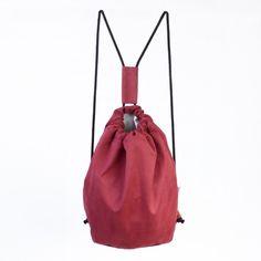 Plecak Zamszowy Marsala