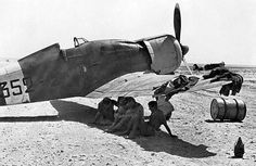 Fiat G.50, Nth Africa 1941