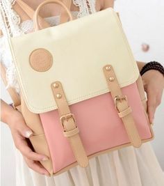 Cute backpack but too small for school :(