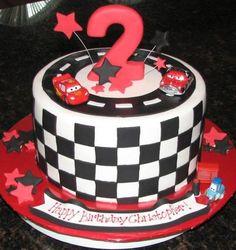 ¡Decora tus tortas al estilo de la película cars! #Reposteria