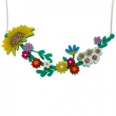 How Does Your Garden Grow? Necklace | LA LA LAND