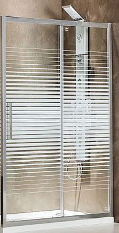 ΚΑΜΠΙΝΑ ΝΤΟΥΣΙΕΡΑΣ DEVON SLIDER SLR 120+2D3 (124-127 CM) - ΚΡΥΣΤΑΛΛΟ ΜΕ ΓΡΑΜΜΕΣ Tub Enclosures, Devon, Blinds, Curtains, Home Decor, Decoration Home, Room Decor, Shades Blinds, Blind