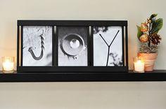 "Free printable alphabet photography that spells ""joy"""