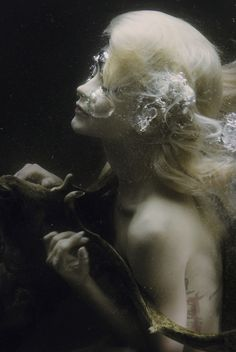"""Only with presence"" by Mira Nedyalkova #dark #underwater #photography"