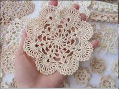 Lace Doilies, Crochet Doilies, Crochet Flowers, Crochet Towel, Cotton Crochet, Rose Embroidery, Hand Embroidery Stitches, Doily Patterns, Crochet Patterns