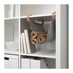 KALLAX Hängeaufbewahrung für Zubehör, hellgrau - - - IKEA